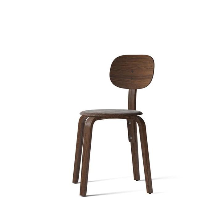 Afteroom Dining Chair Plywood, Eiche dunkel gebeizt von Menu