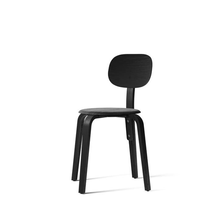Afteroom Dining Chair Plywood, Esche schwarz von Menu