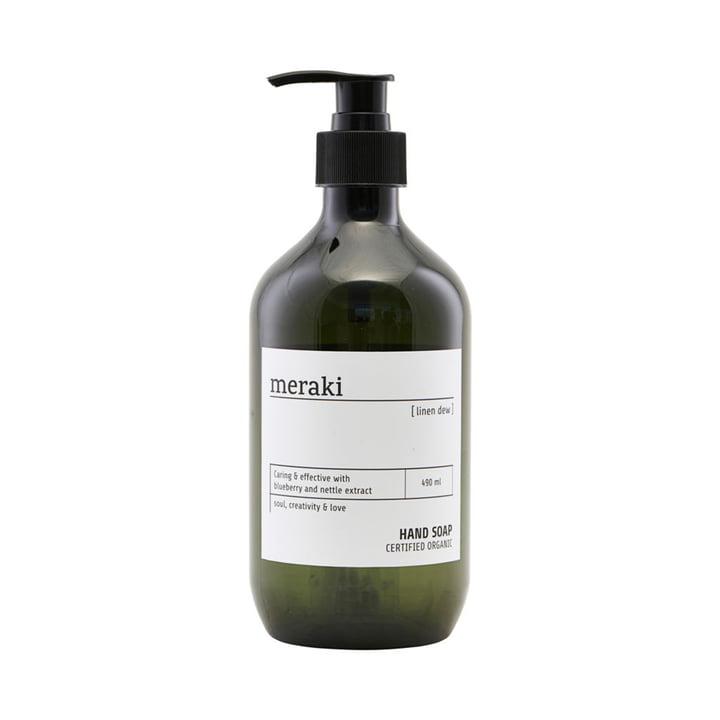 Die Handseife von Meraki in Linen Dew, 490 ml