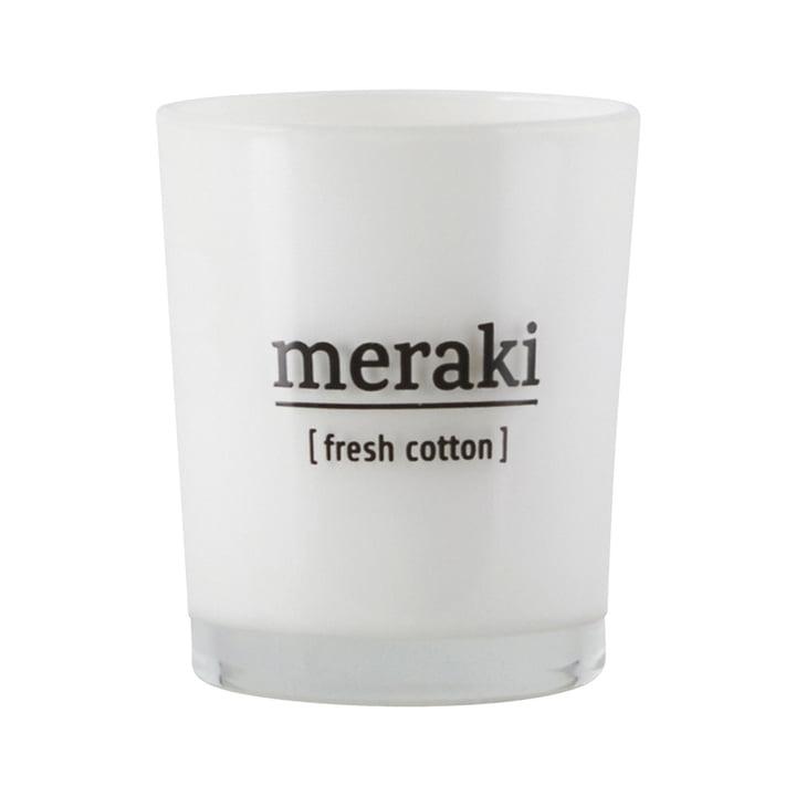 Die Duftkerze Fresh Cotton von Meraki, Ø 5,5 cm