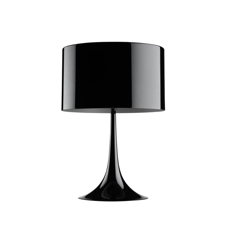 Die Spun Light T1 von Flos in schwarz glänzend