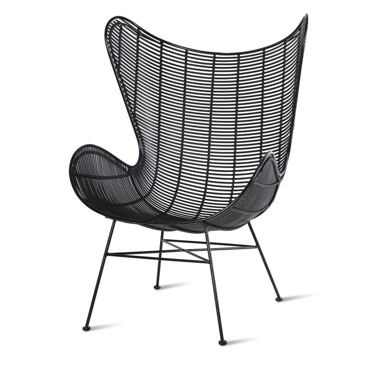 Egg Chair Outdoor, schwarz von HKliving