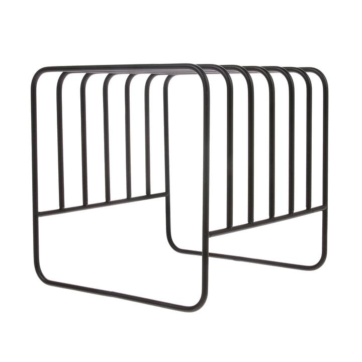 Plate Rack Abtropfständer, schwarz von HKliving