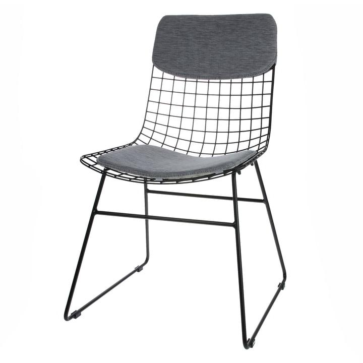 Polster für Wire Chair, grau von HKliving