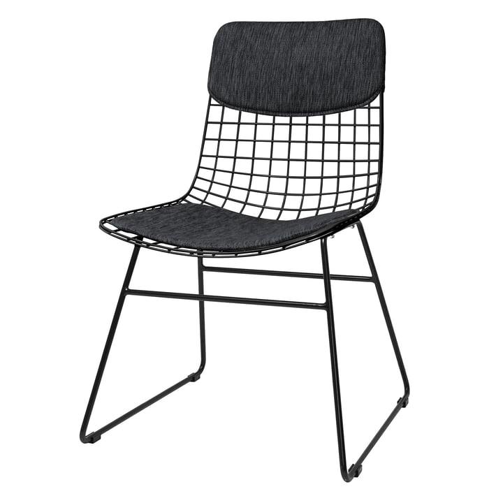 Polster für Wire Chair, schwarz von HKliving