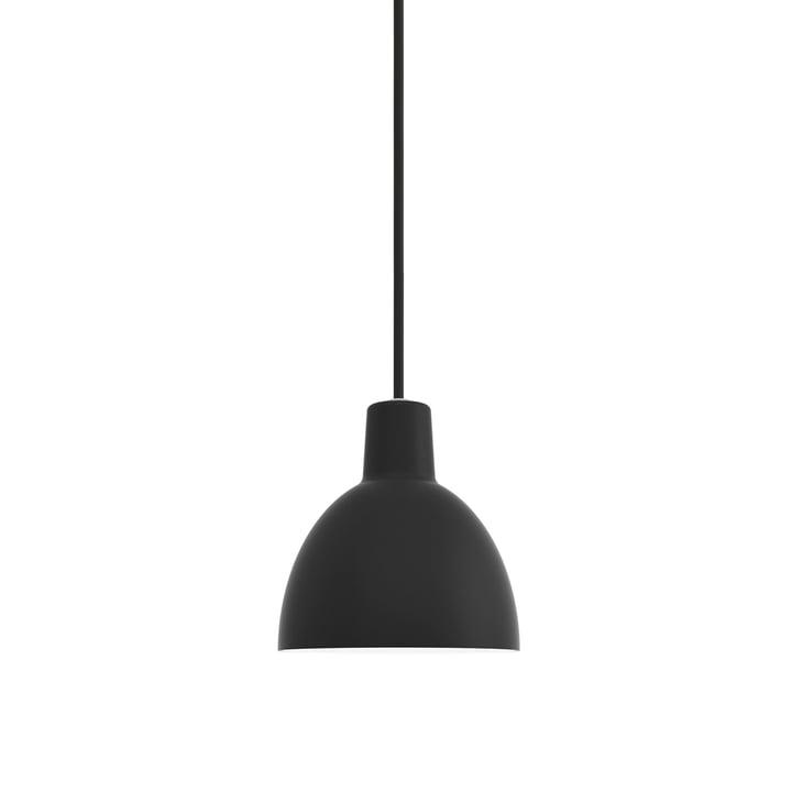Toldbod 170 Pendelleuchte von Louis Poulsen in schwarz (Zuleitung schwarz)