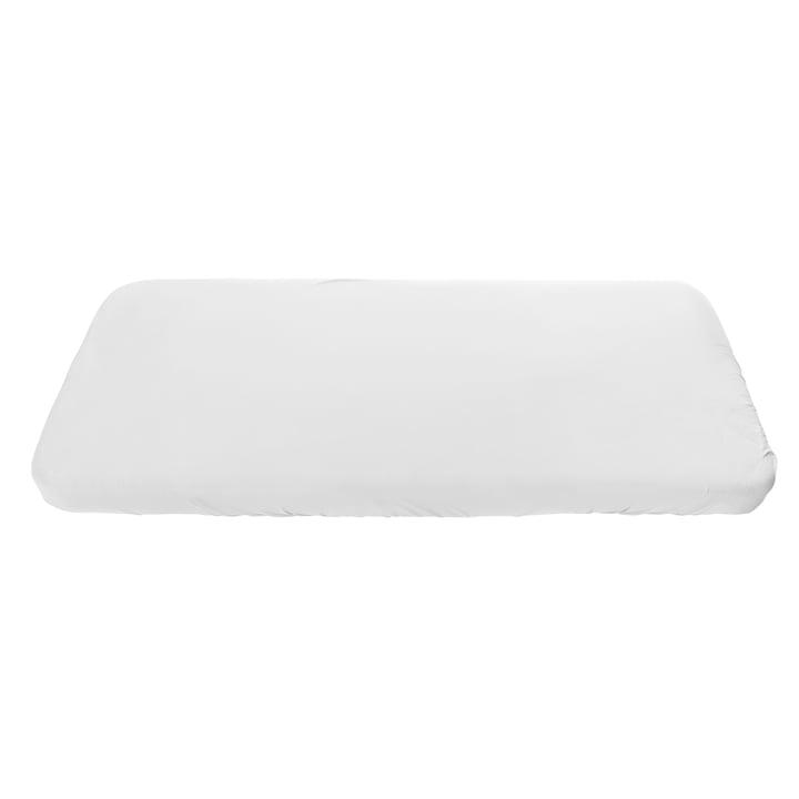 Junior-Spannbettlaken von Sebra in weiß