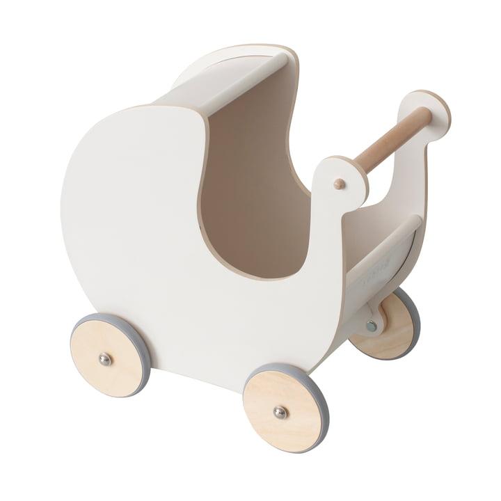 Der Puppenkinderwagen von Sebra in classic white