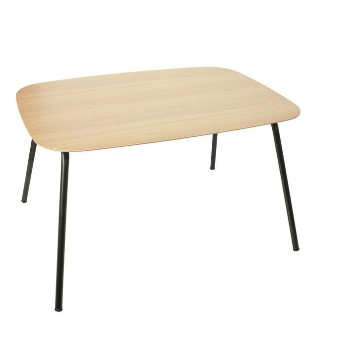 Der Oakee Kindertisch von Sebra in Eiche natur / schwarz