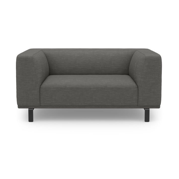 Das Love seat View Sofa von Sit with us in grüngrau
