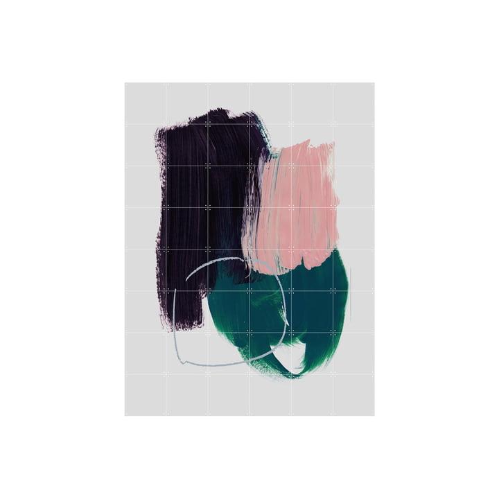 Abstract Air Brush Strokes 10 Wandbild von IXXI in 120 x 160 cm