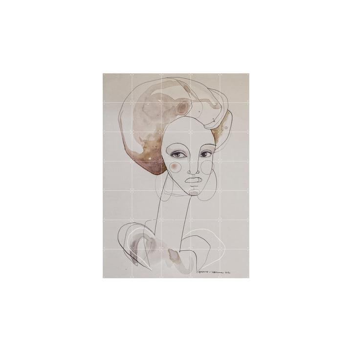 Das Poet Wandbild von IXXI, 100 x 140 cm