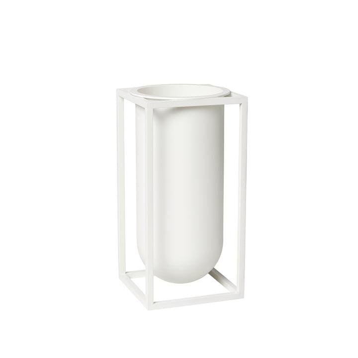 Kubus Vase Lily, weiß von by Lassen