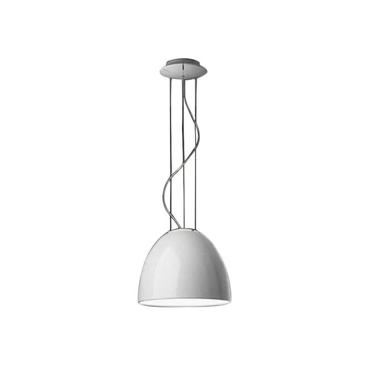 Artemide - Nur Mini Gloss Pendelleuchte, Halogenlampe, weiß
