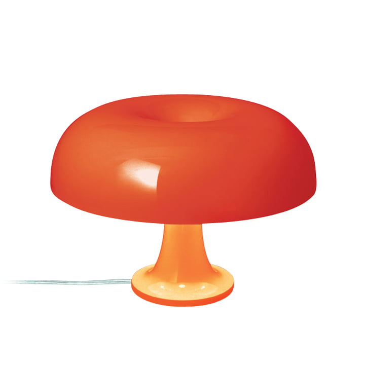 Artemide Nessino Tischleuchte, orange
