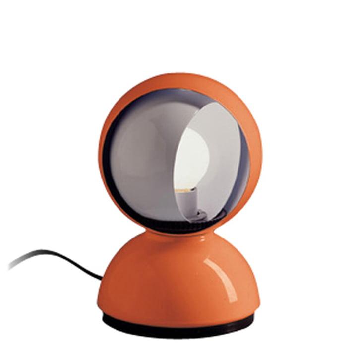 Artemide Eclisse Tischleuchte, orange