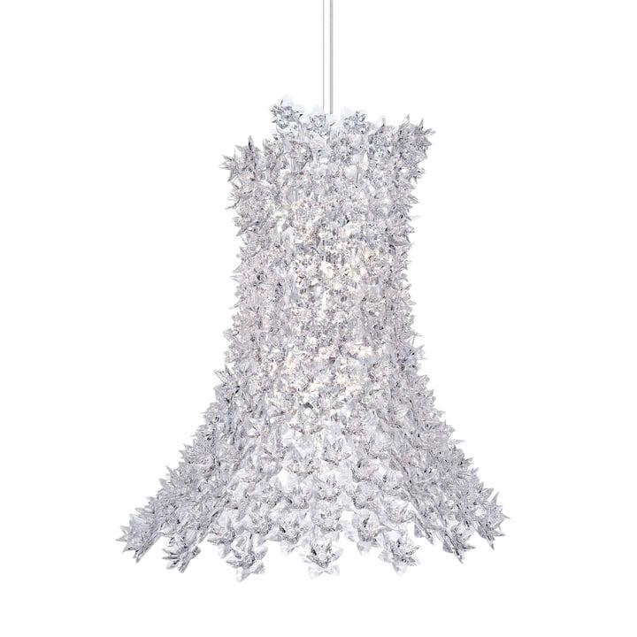Bloom Pendelleuchte H 70 cm von Kartell in kristall