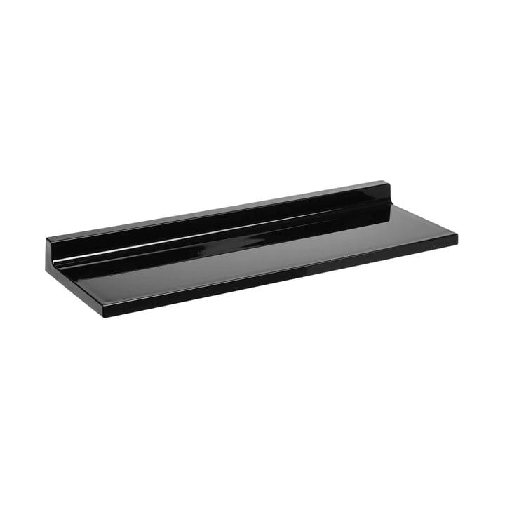 Shelfish Wandregal von Kartell in schwarz glänzend