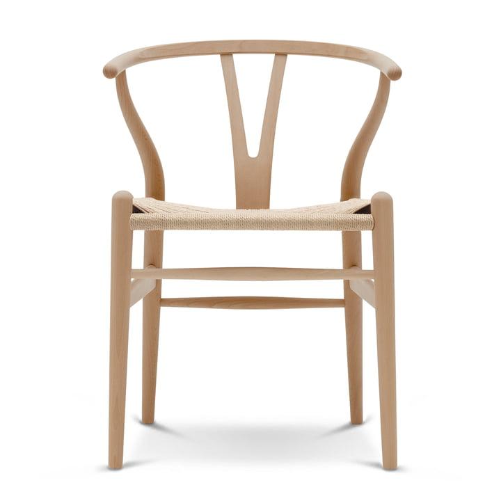 CH24 Wishbone Chair von Carl Hansen in Buche geölt / Naturgeflecht