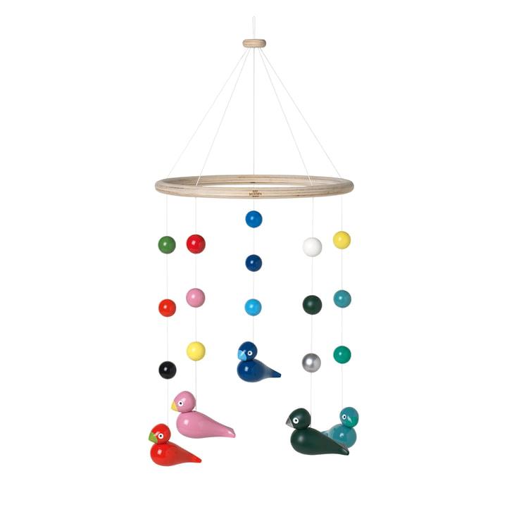 Singvögel Mobile Ø 23,5 cm, multi von Kay Bojesen
