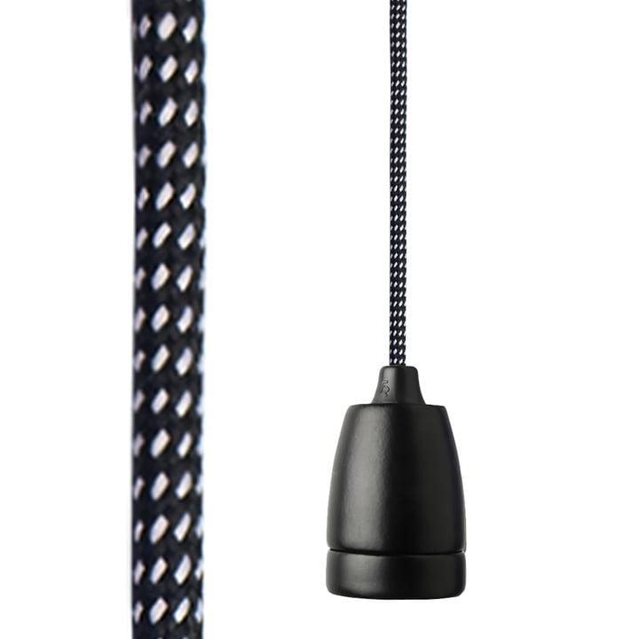 NUD Classic Black - schwarz / weiß gepunktet
