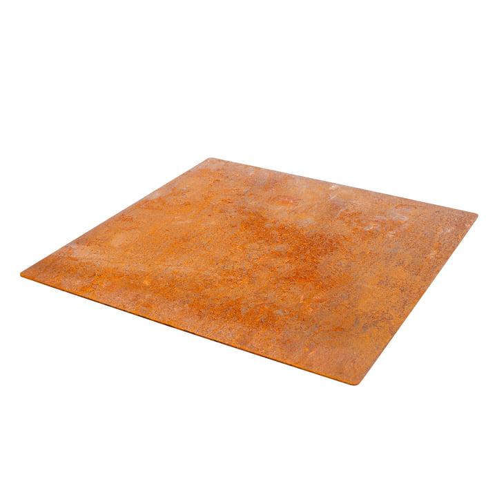 Die Bodenplatte für Outdoor Stahlofen von Weltevree
