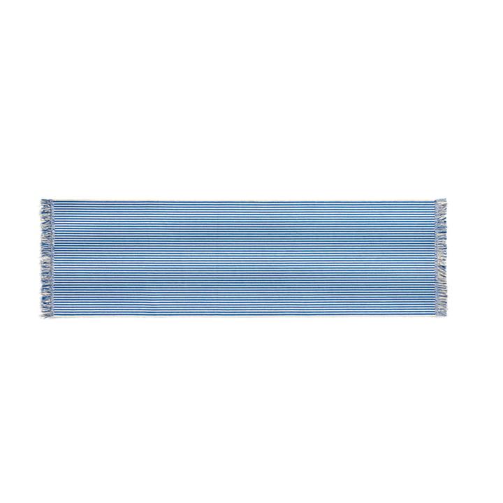 Stripes Teppichläufer, 60 x 200 cm, bluebell ripple von Hay