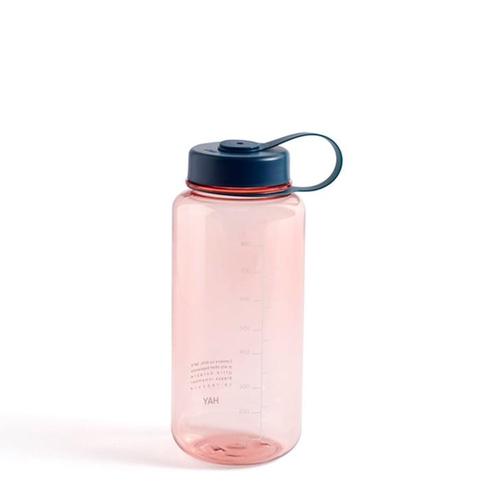Wasser-Flasche, 0,9 L, rose von Hay