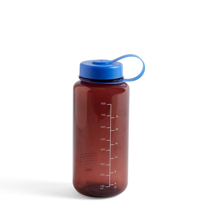 Wasser-Flasche, 0,9 L, burgundy von Hay
