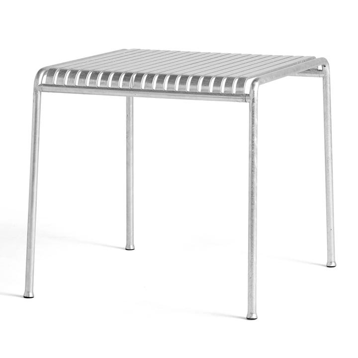 Palissade Tisch, 82.5 x 90 cm, hot galvanised von Hay