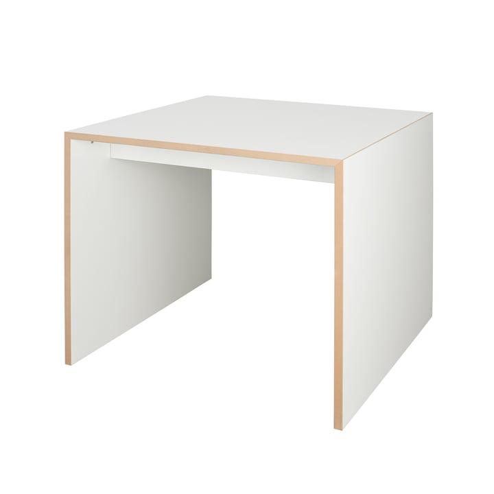 freistell Tisch 80 x 80 cm von Tojo in weiß