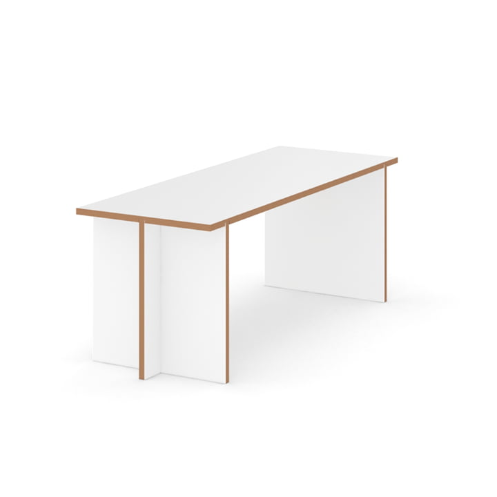Bank 120 x 45 cm von Tojo in weiß