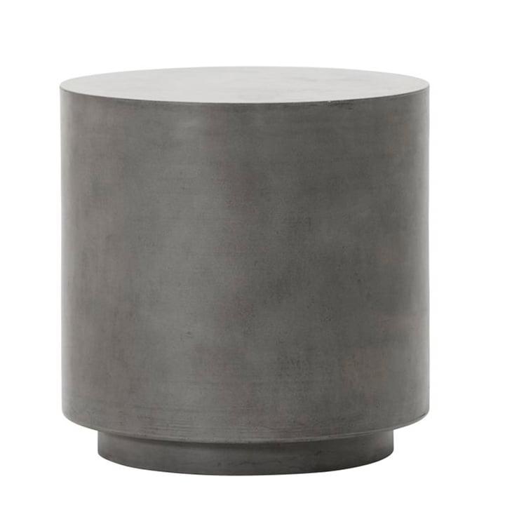 Der Out Beton Beistelltisch von House Doctor in grau, H 50 cm