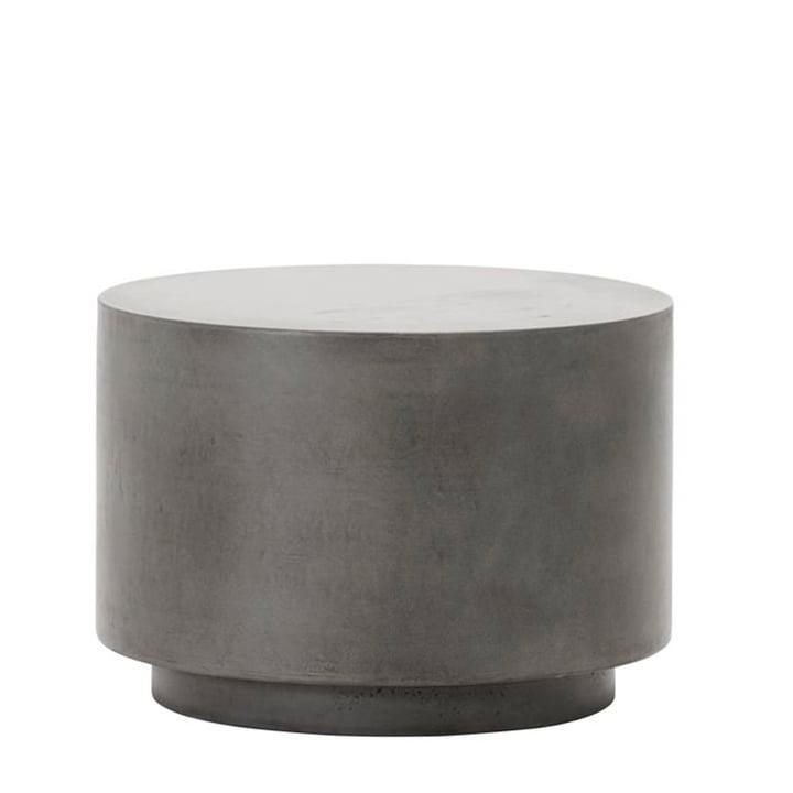 Der Out Beton Beistelltisch von House Doctor in grau, H 35 cm