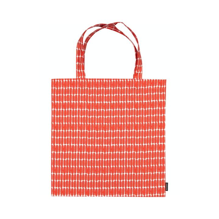 Die Alku Einkaufstasche von Marimekko, weiß / rot