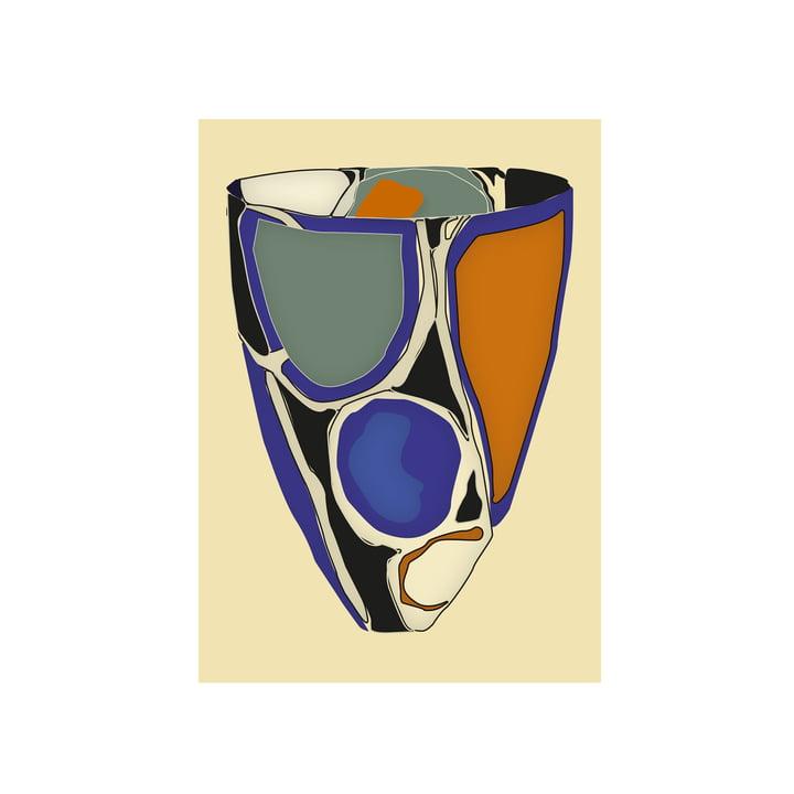 Cerámica 06 Poster, 50 x 70 cm von Paper Collective