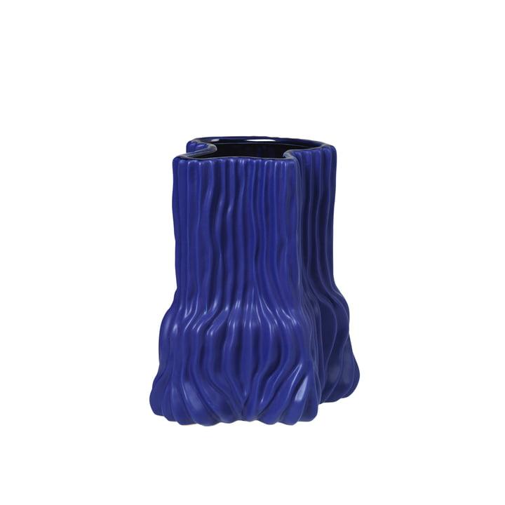 Die Magny Vase von Broste Copenhagen in dunkelblau, H 23,5 cm