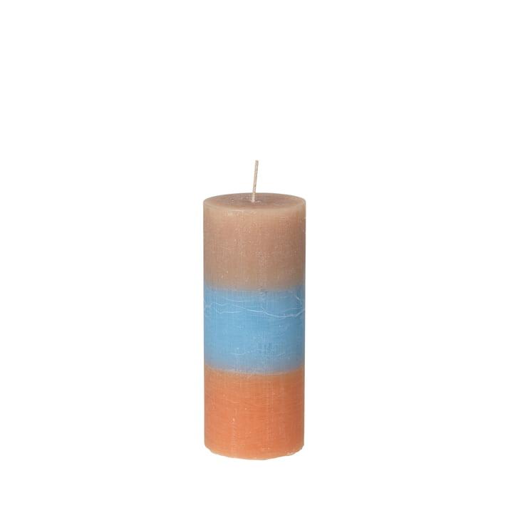 Die Rainbow Kerze von Broste Copenhagen in caramel sky, Ø 7 x H 17 cm