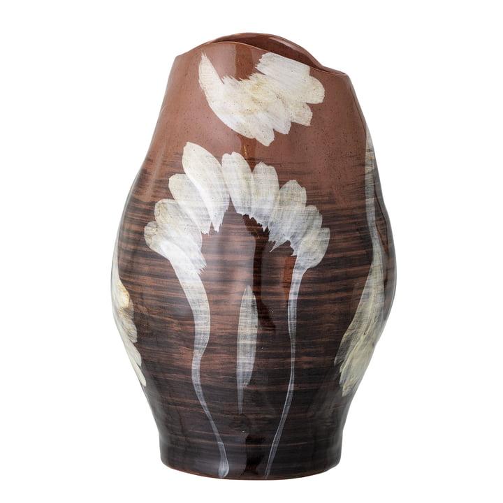 Die Obsa Vase von Bloomingville in braun, H 30 cm
