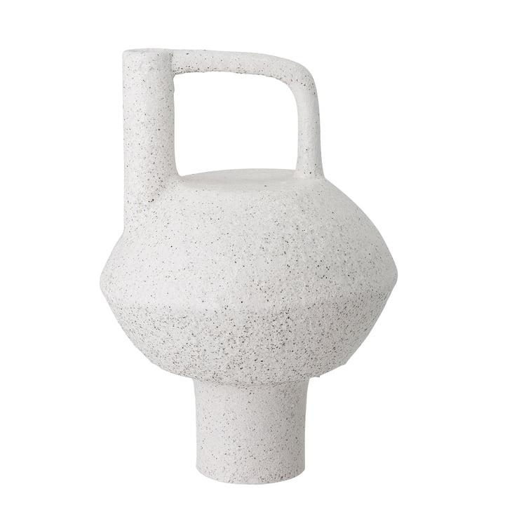 Die Loka Vase von Bloomingville, H 34 cm, weiß