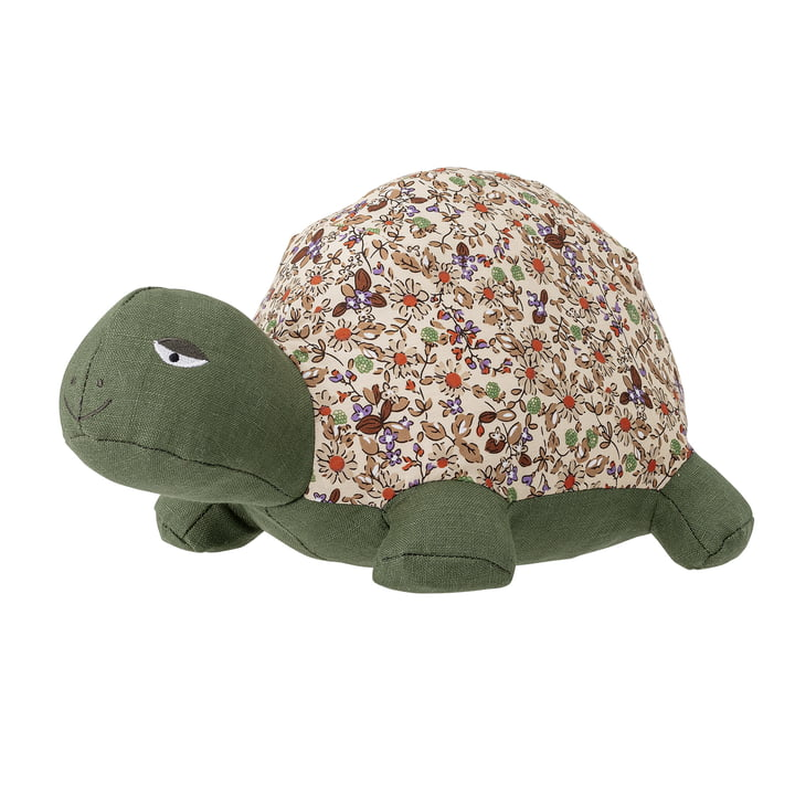 Halle Soft Kuscheltier Schildkröte von Bloomingville in grün