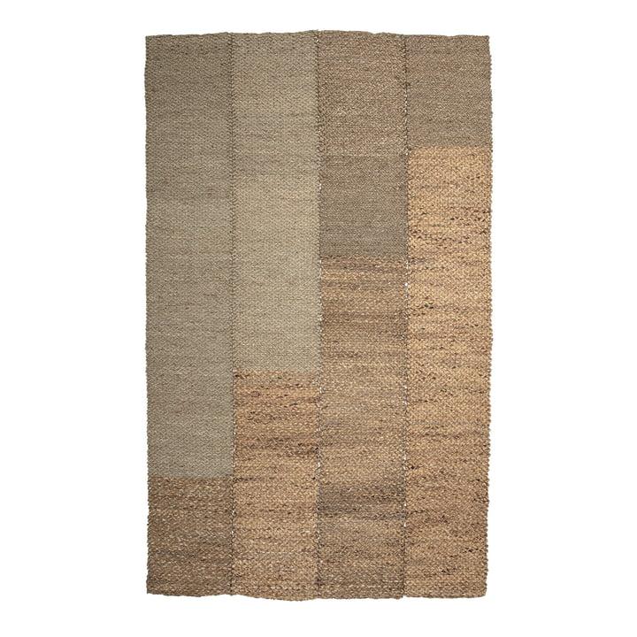 Der Enzov Teppich von Bloomingville, 245 x 150 cm, Seegras natur