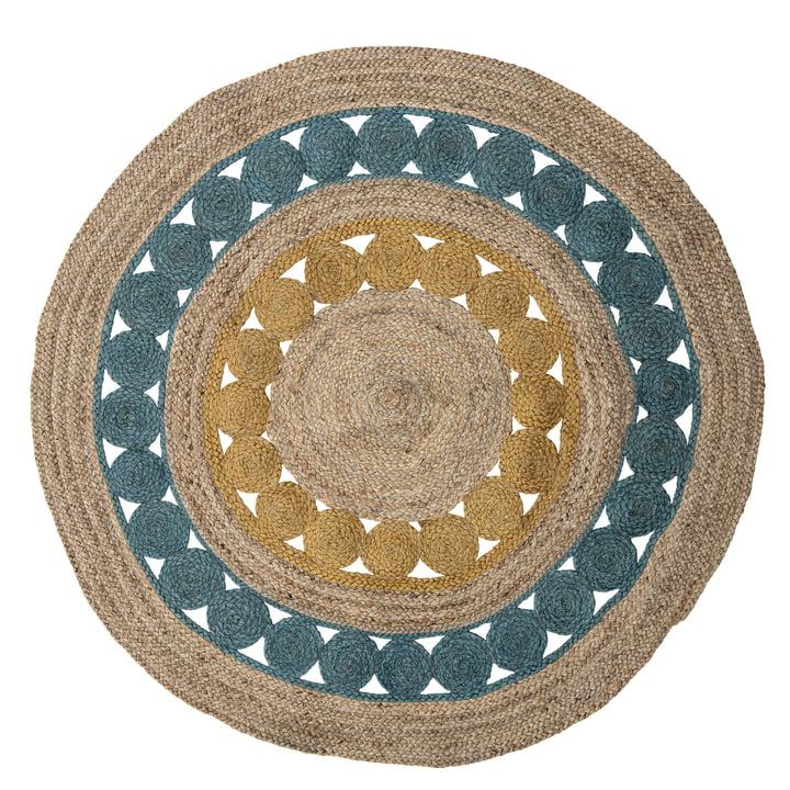 Der Marlin Teppich von Bloomingville, Ø 119 cm, bunt