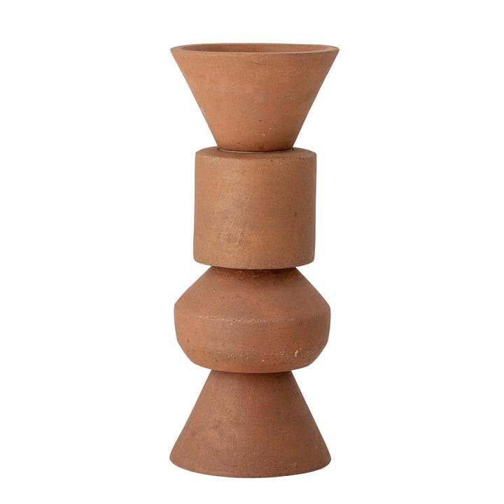 Die Karar Vase von Bloomingville, H 40 cm, orange