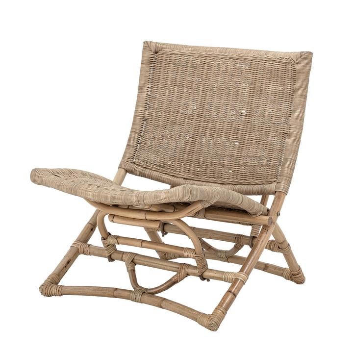 Baz Lounge Chair von Bloomingville in Rattan natur