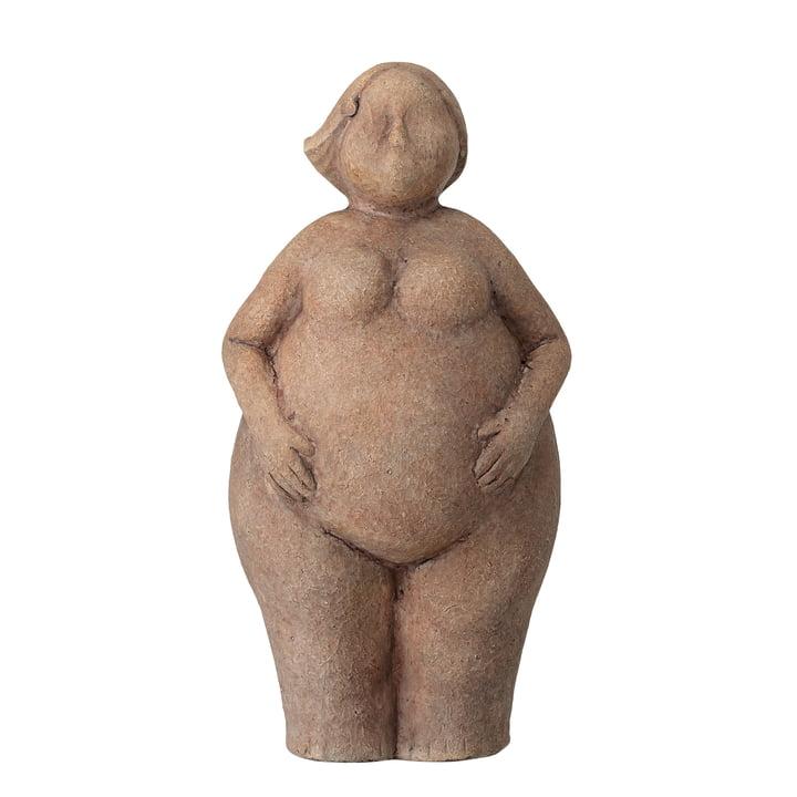 Sidsel Skulptur H 25 cm von Bloomingville in braun