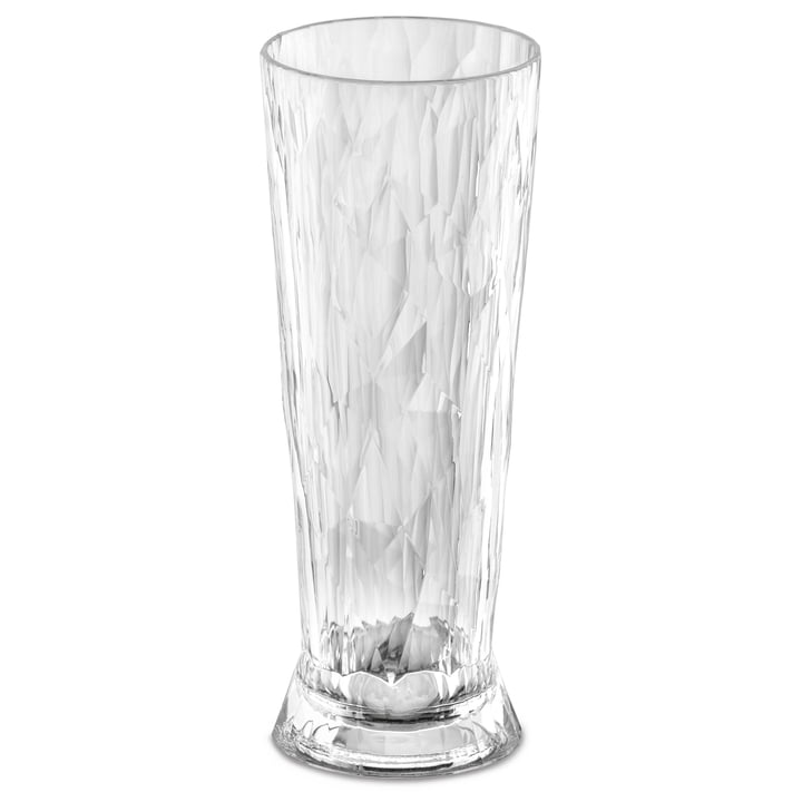 Das CLUB NO. 11 Superglas von Koziol, 0.5 l, crystal clear