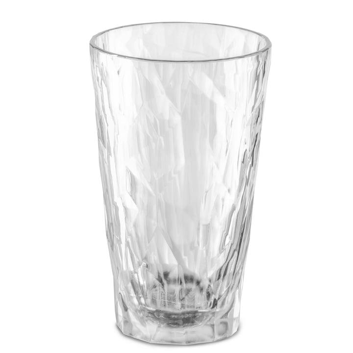 Das CLUB NO. 6 Superglas von Koziol, 0.3 l, crystal clear