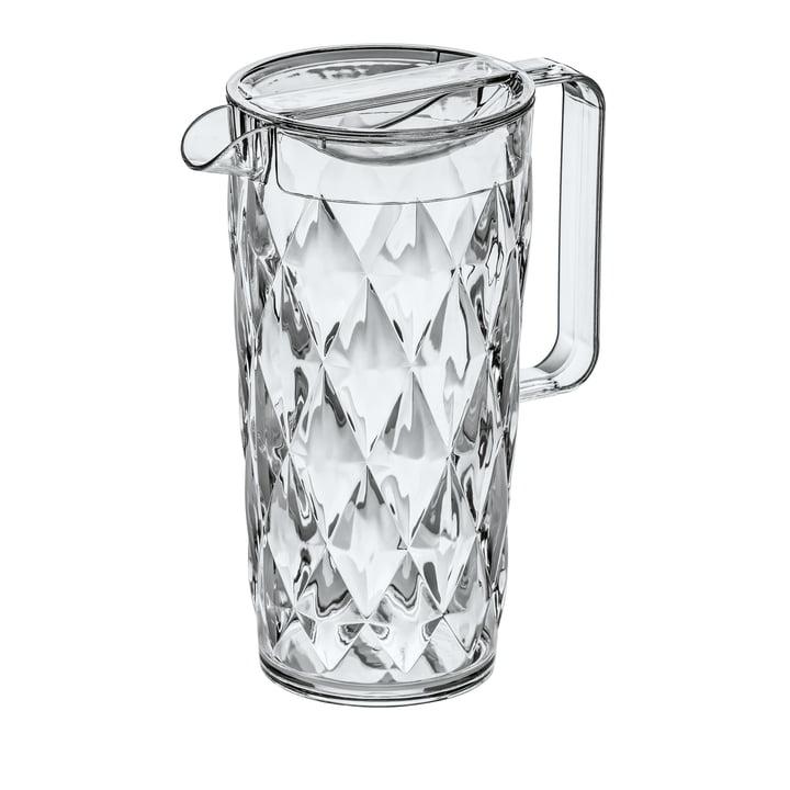 Die CRYSTAL Kanne 1.6 l von Koziol,  crystal clear