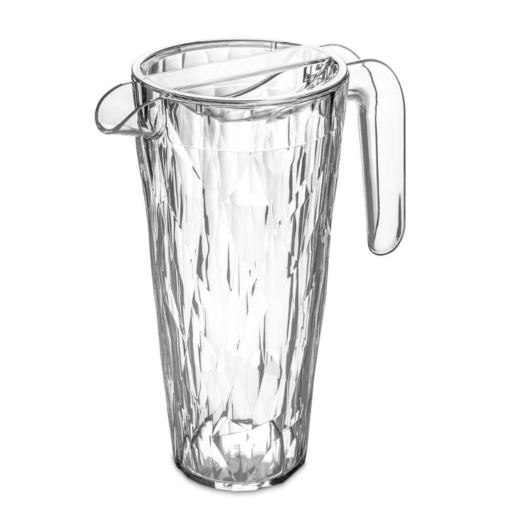 Die CLUB Superglas Kanne von Koziol, 1.5 l, crystal clear